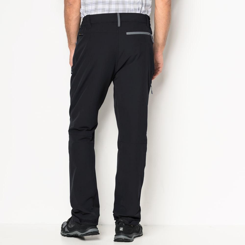 JACK WOLFSKIN Men's Activate XT Softshell Pants - 6000 BLACK