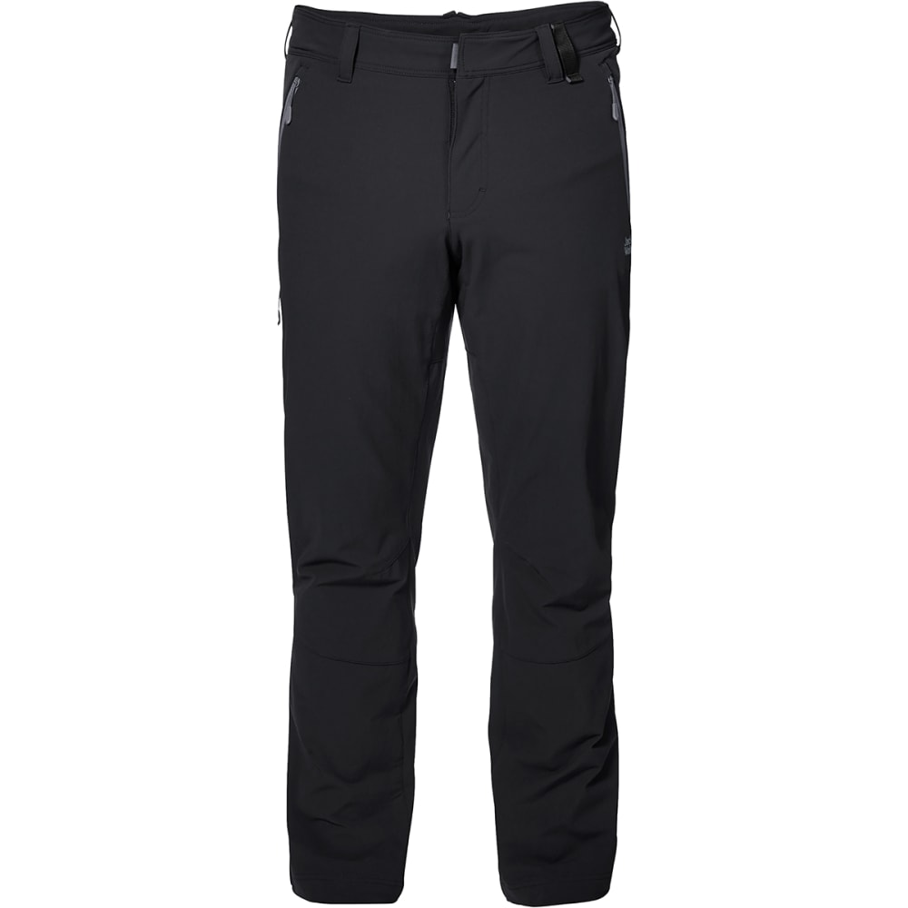 JACK WOLFSKIN Men's Activate XT Softshell Pants - 6000 BLACK