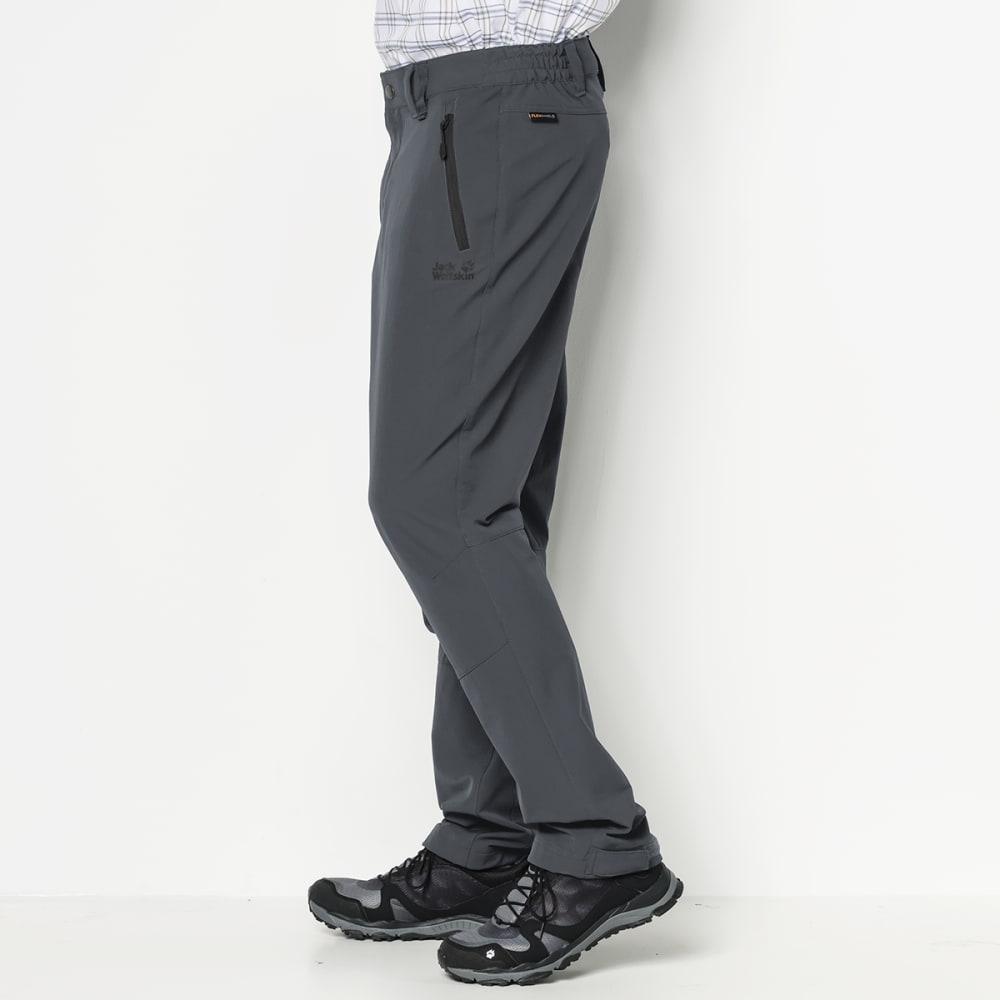 JACK WOLFSKIN Men's Activate XT Softshell Pants - 6116 DARK IRON