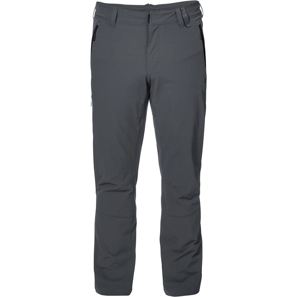 JACK WOLFSKIN Men's Activate XT Softshell Pants - 6116 DARK IRON