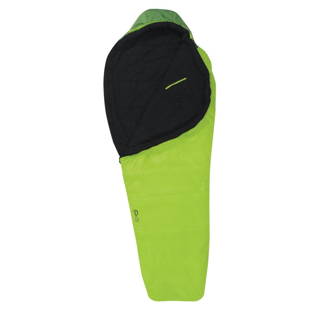 EUREKA Spero 20°F Long Sleeping Bag - LIME/BLACK