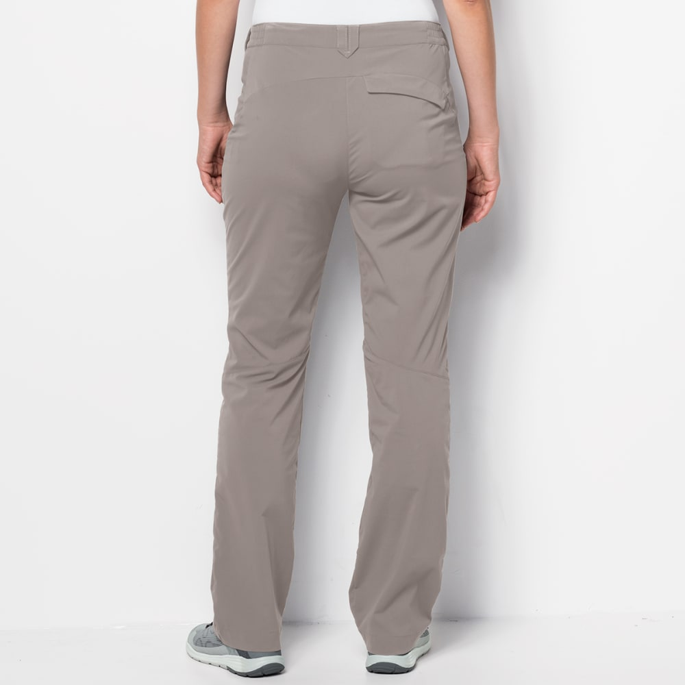 JACK WOLFSKIN Women's Activate Light Softshell Pants - 501 MOON ROCK