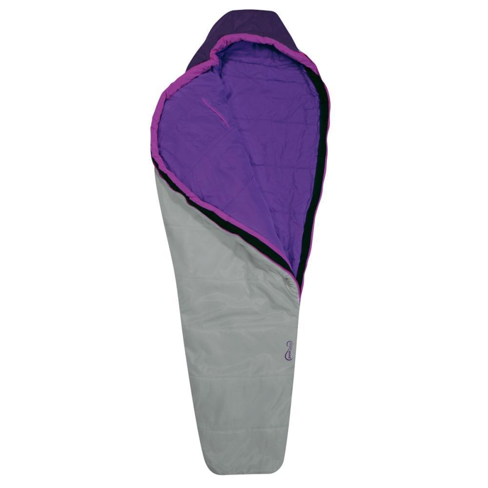 EUREKA Women's Spero 30°F Sleeping Bag - GREY/PURPLE