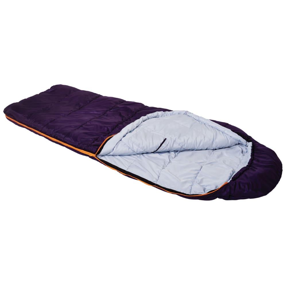EUREKA Women's Lone Pine 30°F Sleeping Bag - PURPLE