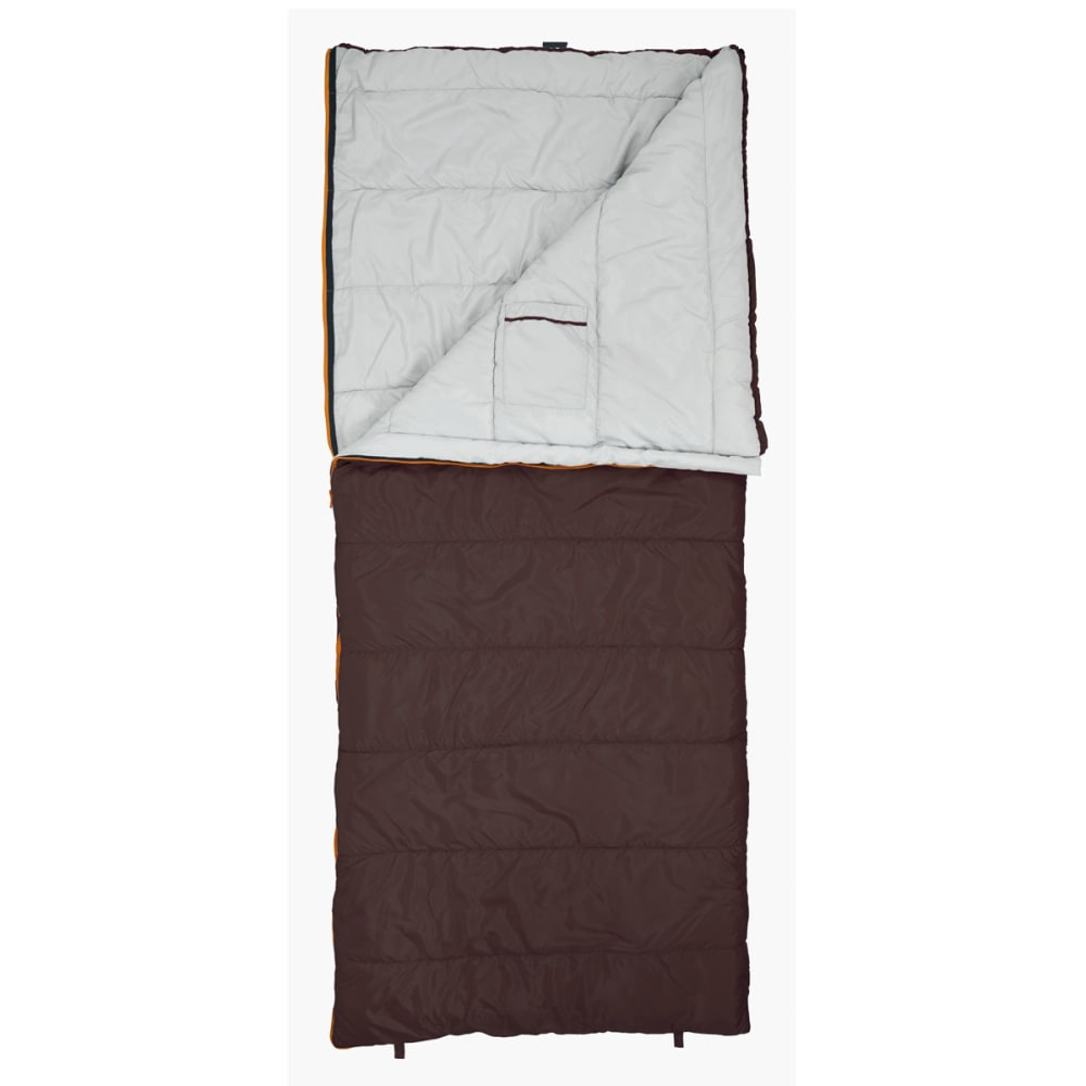 EUREKA Nightshade 20°F Rectangle Sleeping Bag, Large - BROWN