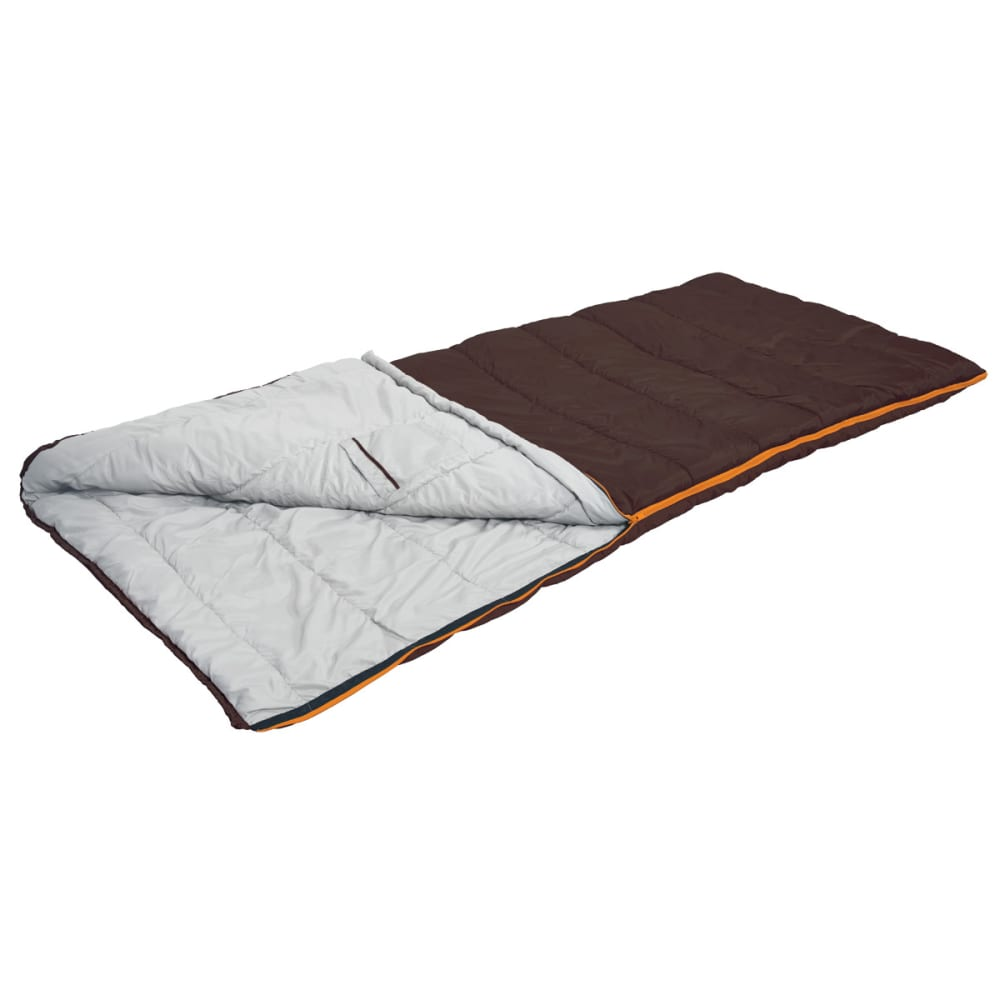 EUREKA Nightshade 20°F Rectangle Sleeping Bag, Large - BROWN