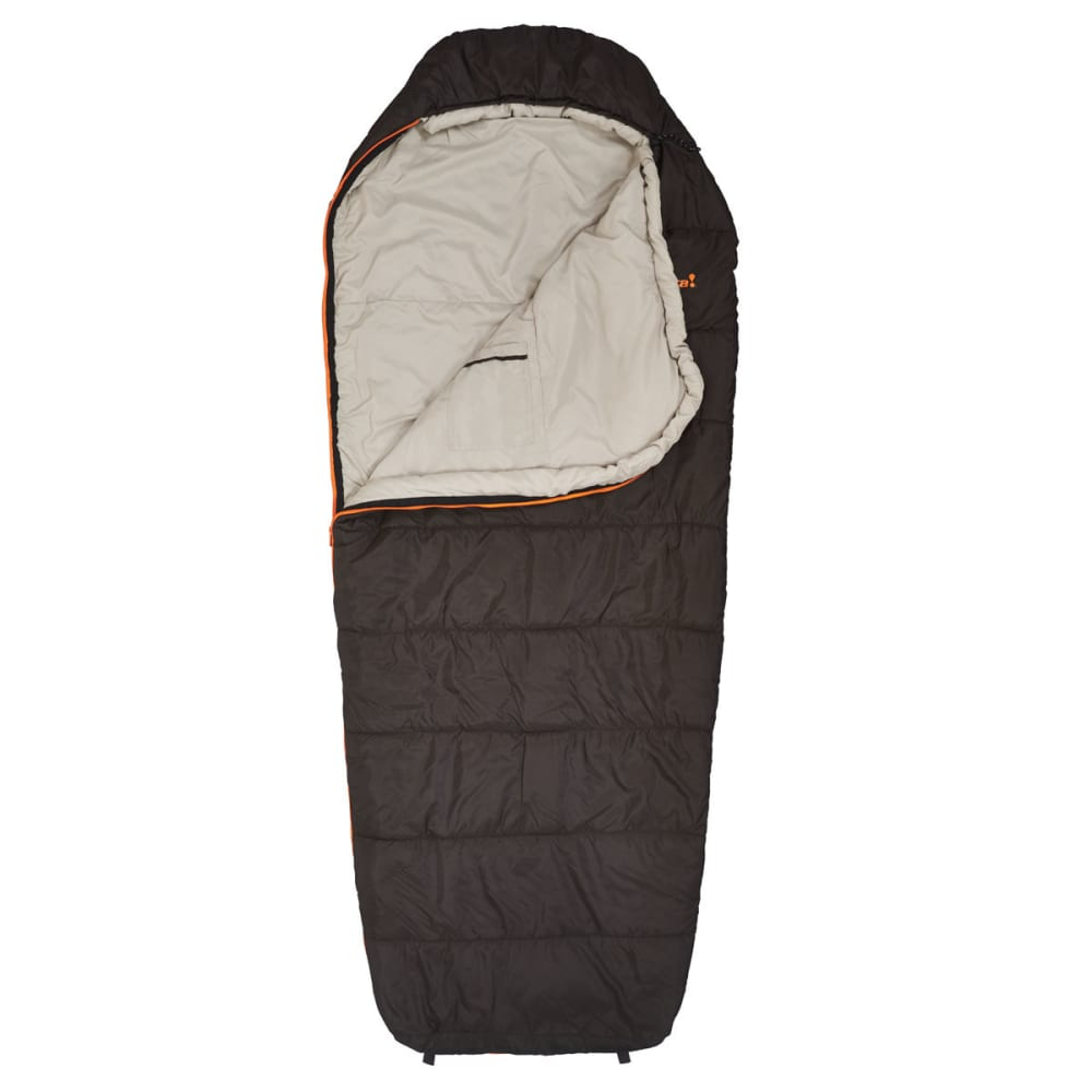 EUREKA Lone Pine 40°F Long Sleeping Bag  - BROWN