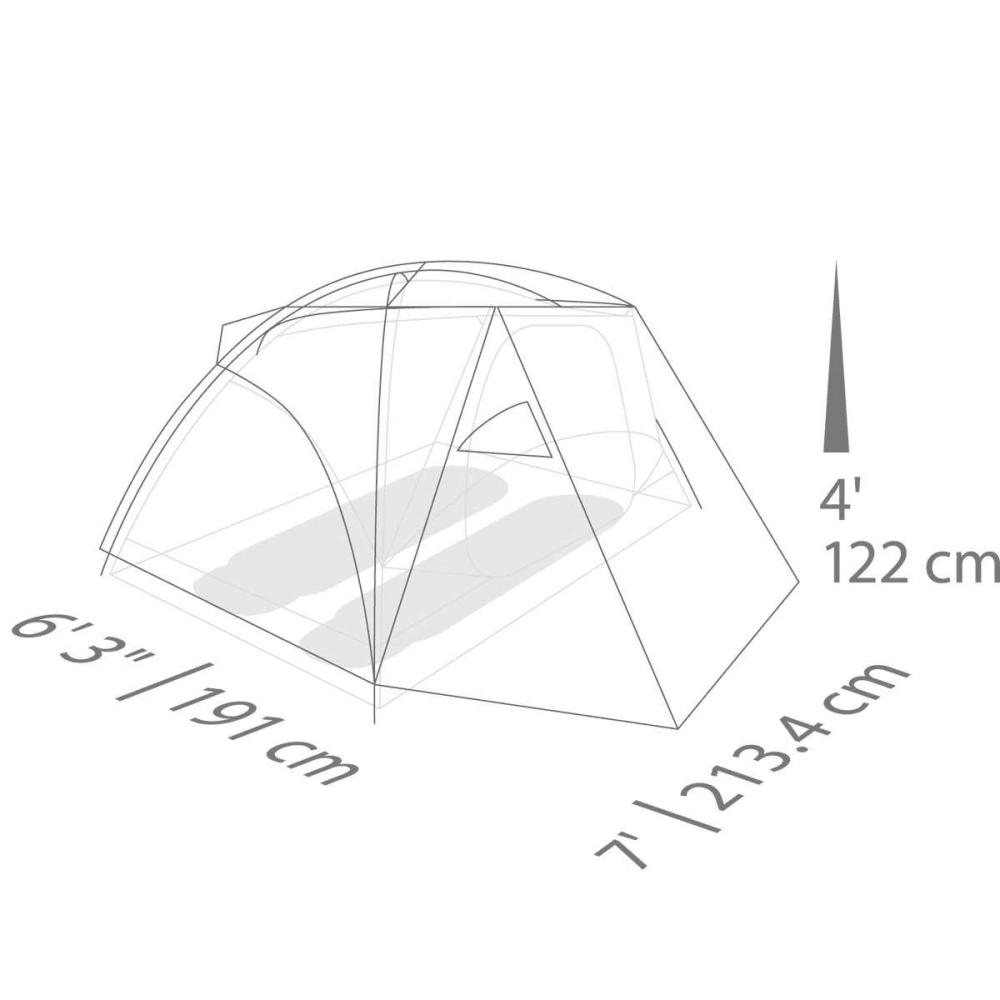 EUREKA Suite Dream 2 Person Tent - HIGH RISE/CHILI/ARRO