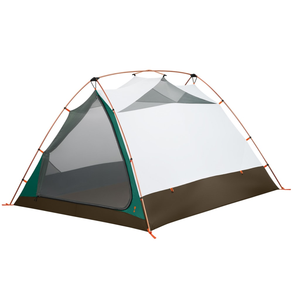 EUREKA Timberline SQ Outfitter 4 Person Tent - GREEN/WHITE/BROWN