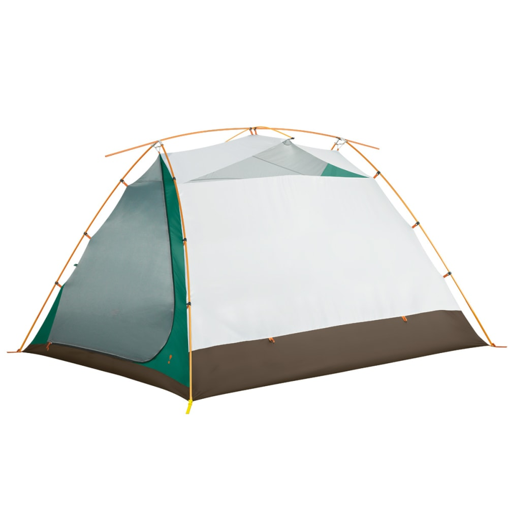 EUREKA Timberline SQ Outfitter 6 Person Tent - GREEN/WHITE/BROWN