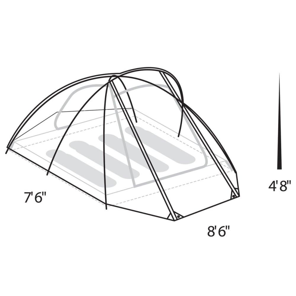 EUREKA Assault Outfitter 4 Person Tent - GREEN/TARMAC