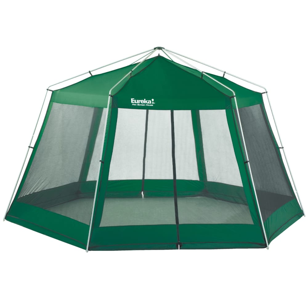 EUREKA Hexagon Screen House - SPRUCE GREEN