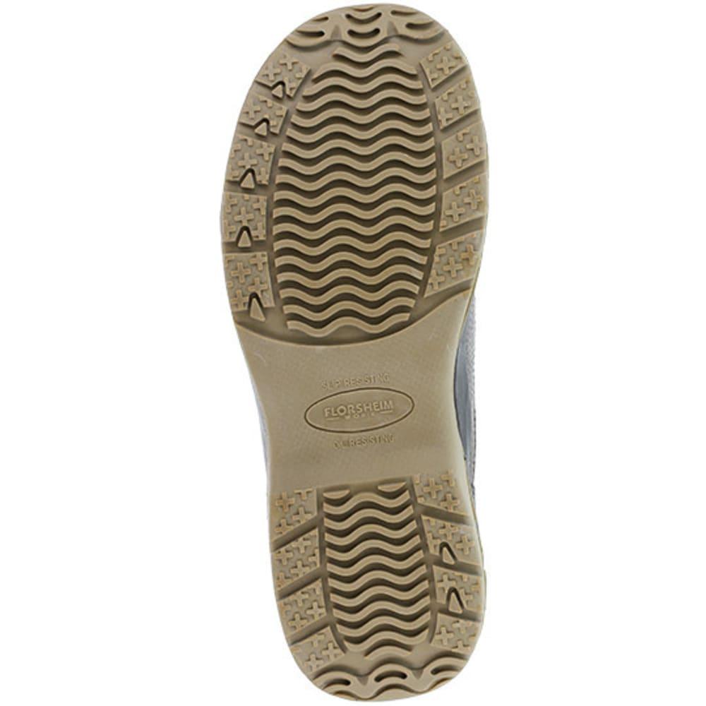 FLORSHEIM WORK Men's Ace Composite Toe Casual Moc Twin Gore Slip On Shoe, Brown - BROWN
