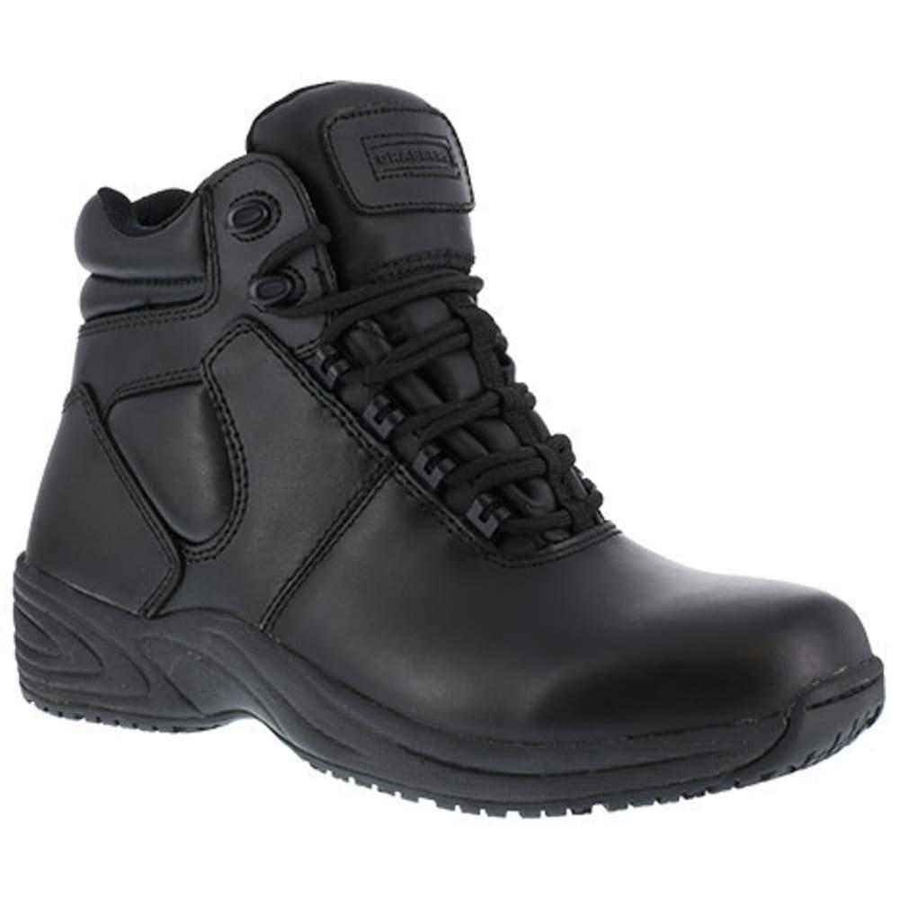 """GRABBERS Men's Fastener Soft Toe 6"""" Sport Boot, Black - BLACK"""