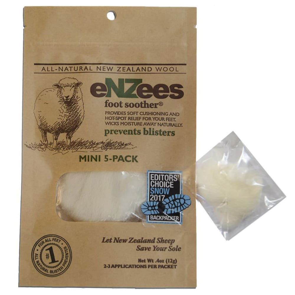 ENZEES Foot Soother Mini, 5 Pack - NO COLOR