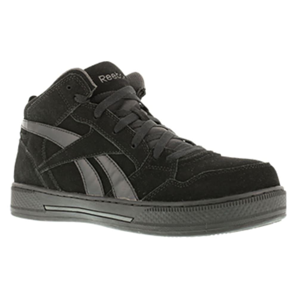REEBOK WORK Men's Dayod Composite Toe Lightweight Hi Top Skateboard Sneaker, Black 6