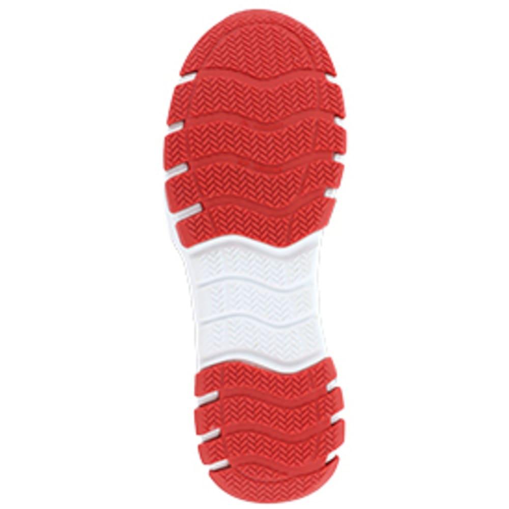 REEBOK WORK Men's Sublite Work Steel Toe Athletic Oxford Sneaker, Grey/Red - GREY