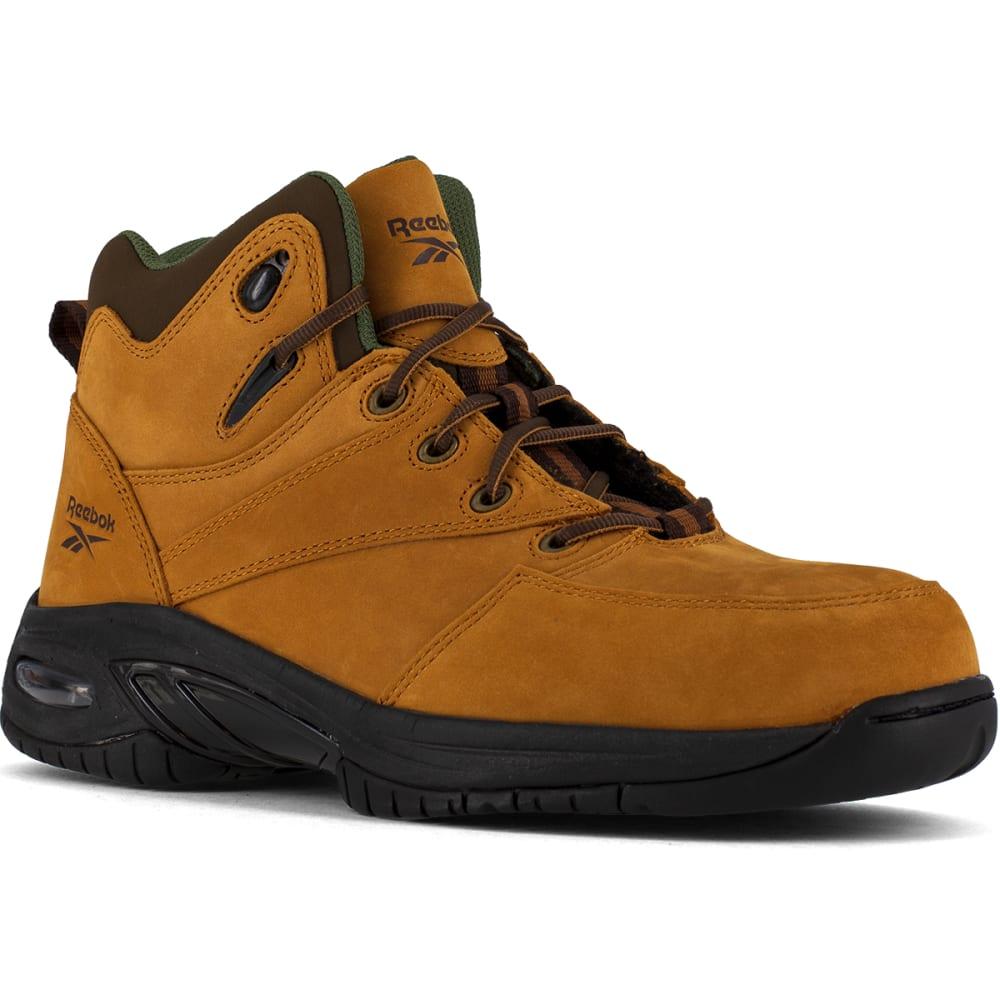 REEBOK WORK Men's Tyak Composite Toe Classic Performance Athletic Hi Top Hiker, Golden Tan 6