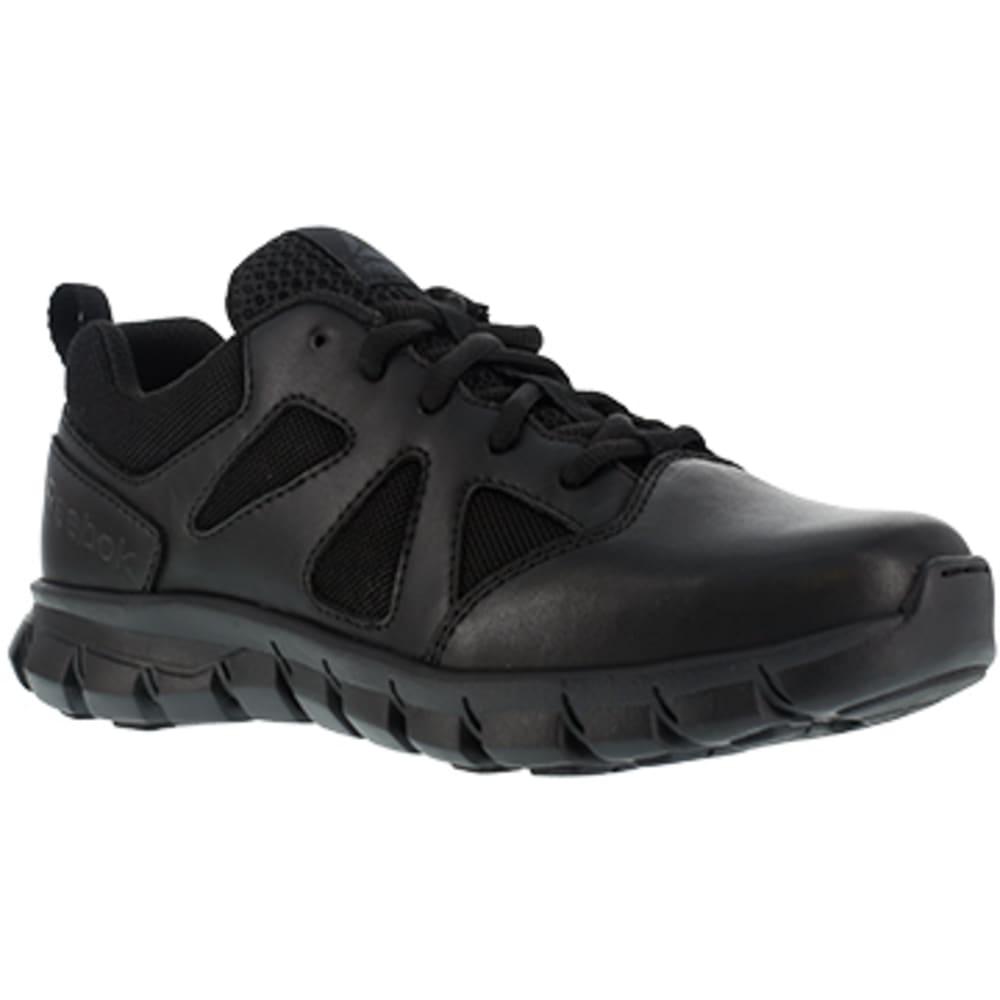 REEBOK WORK Men's Sublite Cushion Tactical Soft Toe Athletic Oxford Sneaker, Black - BLACK