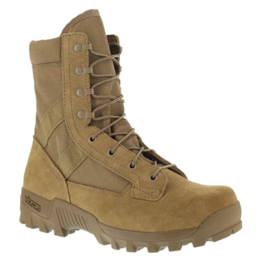 "REEBOK WORK Men's Spearhead Soft Toe 8"" Hot Weather Military Boot, Coyote - COYOTE"