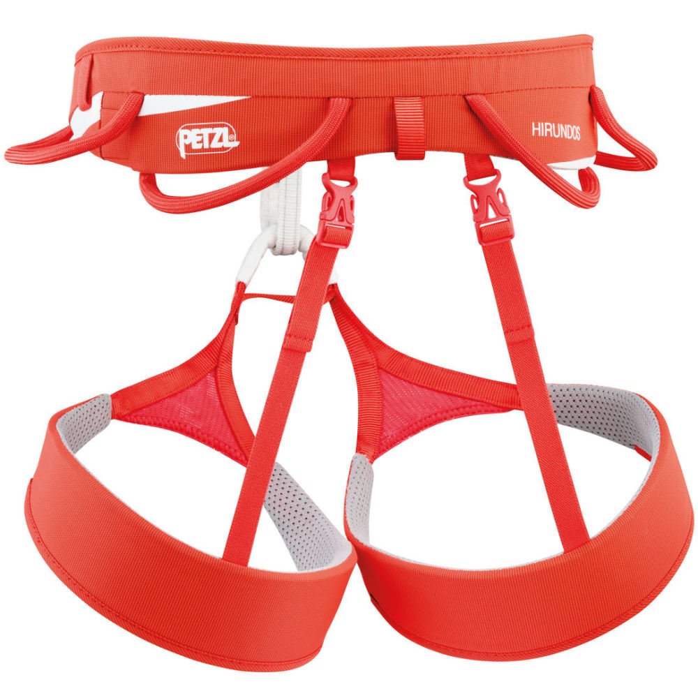 PETZL Hirundos Climbing Harness - ORANGE