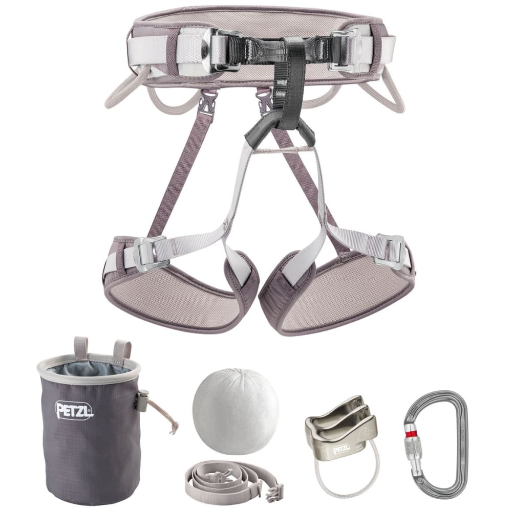 PETZL Corax Climbing Kit - GRAY