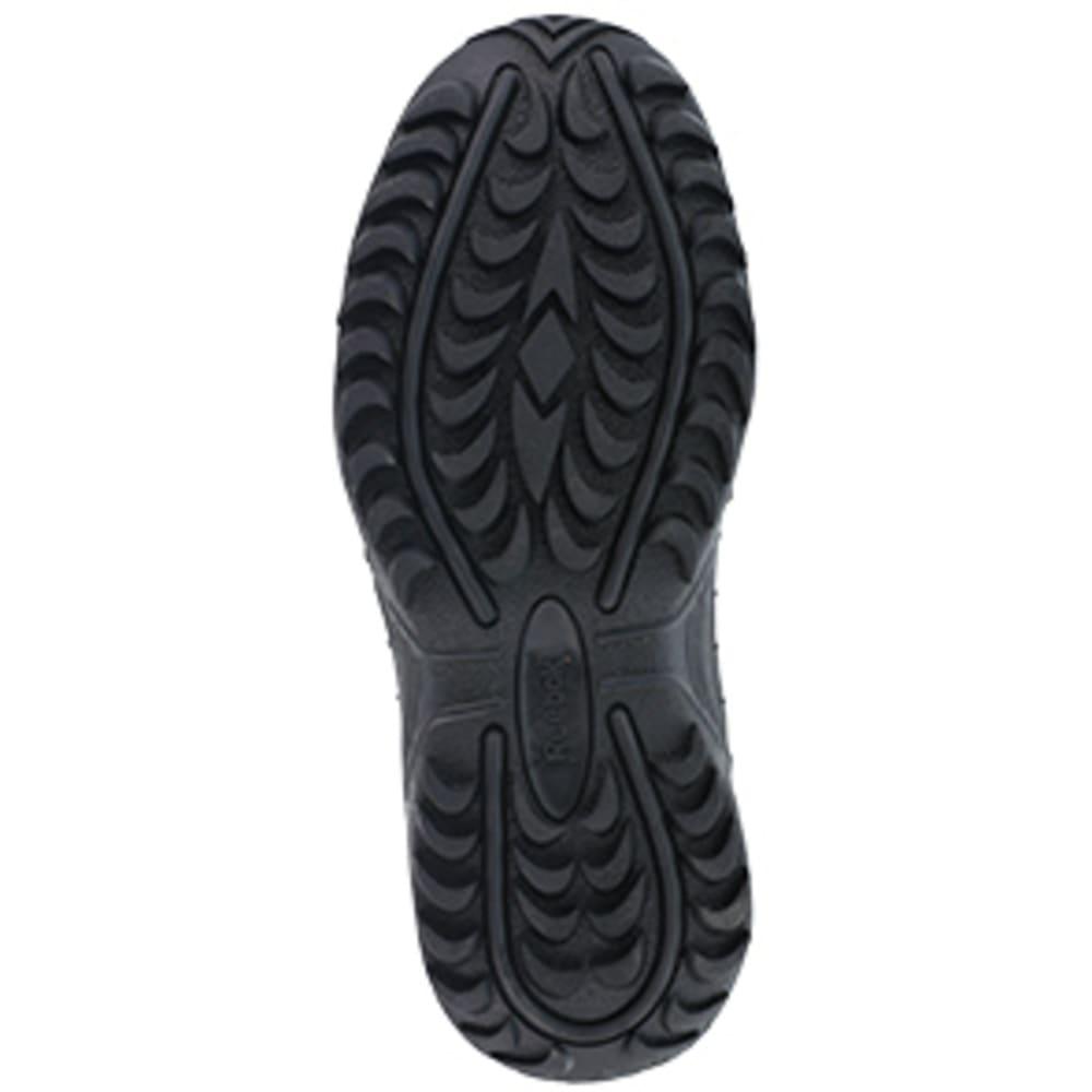 "REEBOK WORK Men's Rapid Response RB Soft Toe Stealth 8"" W/ Side Zip Boot, Black - BLACK"