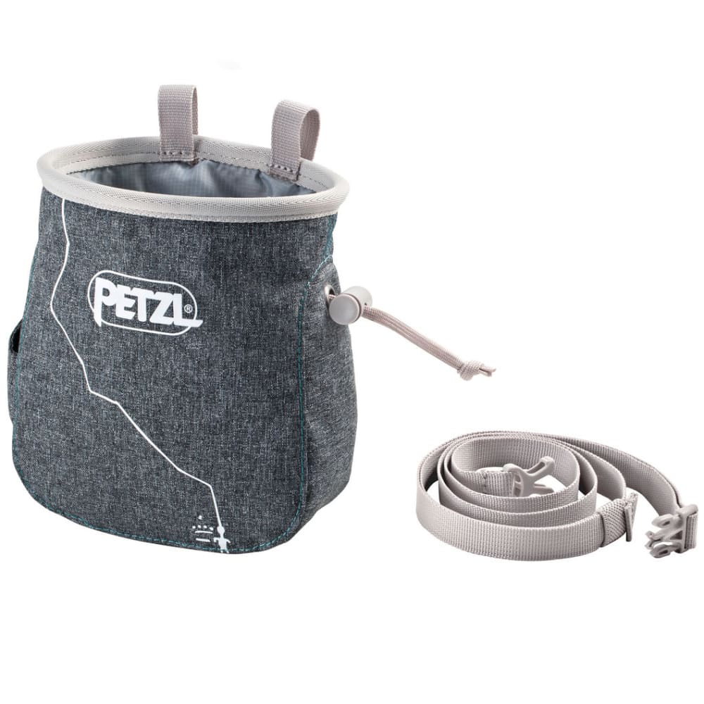 PETZL Saka Chalk Bag - GRAY