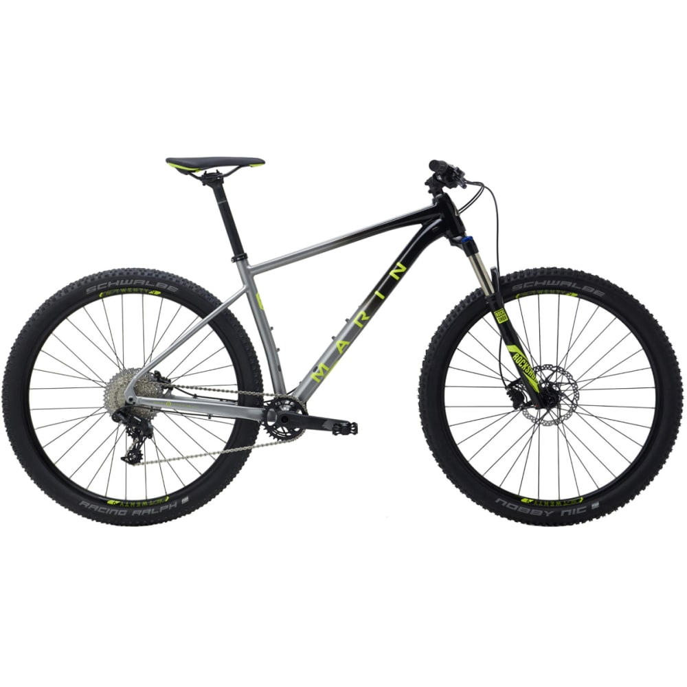 "MARIN Nail Trail 6 Bike - 29"" - BLACK/SILVER"