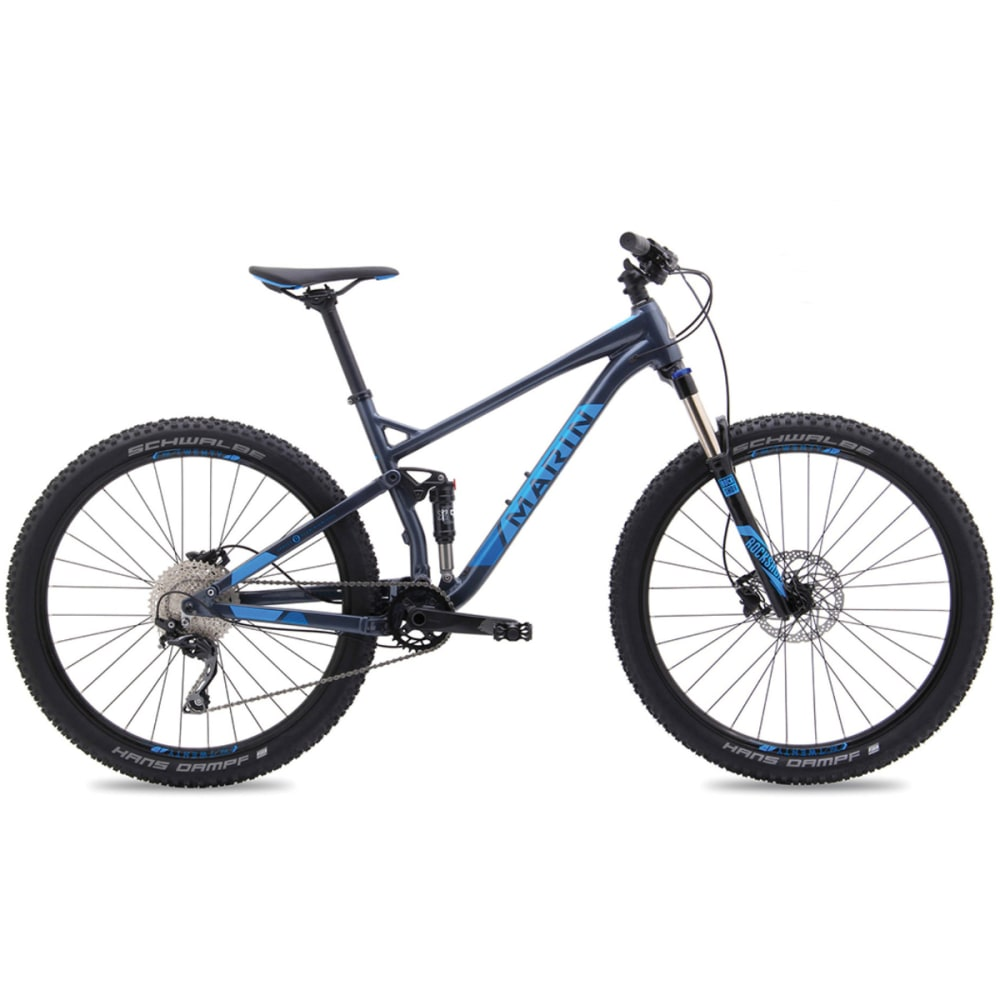 MARIN Hawk Hill Bike - BLACK/BLUE