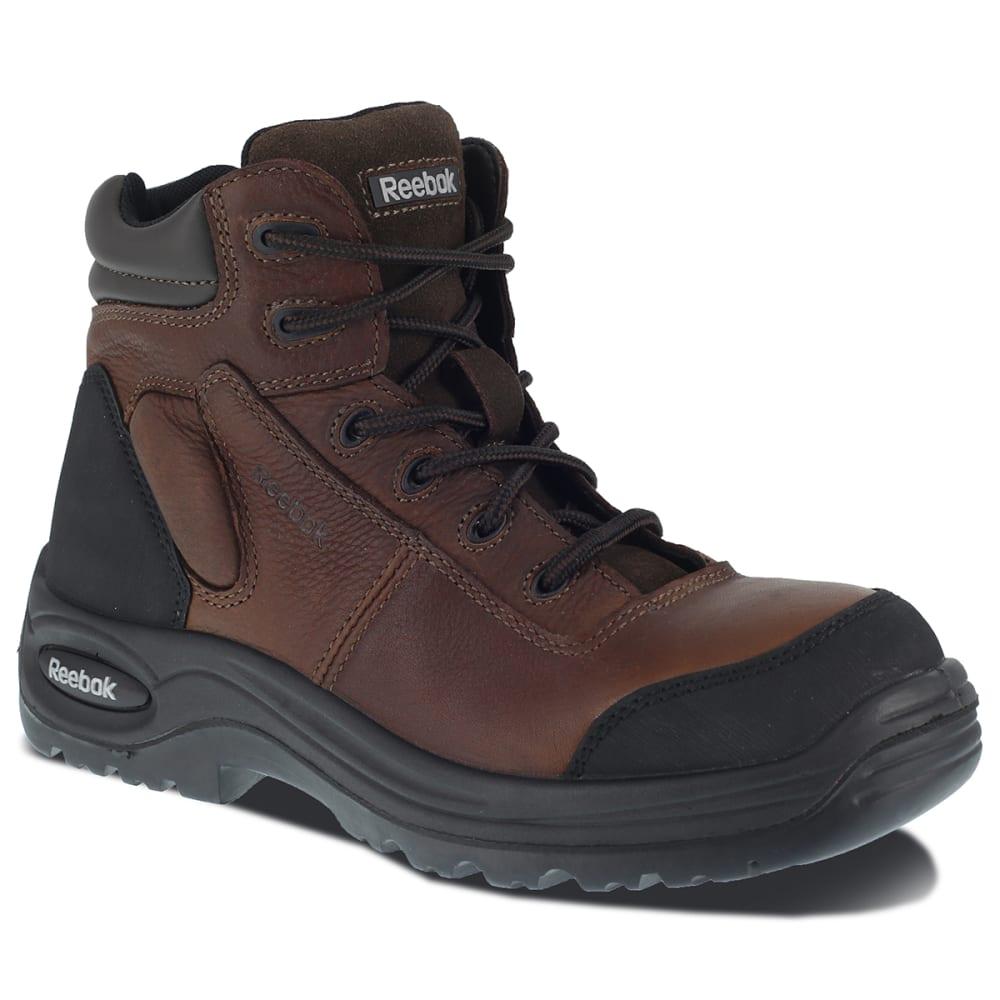 "REEBOK WORK Women's Trainex Composite Toe 6"" Sport Boots - DARK BROWN"
