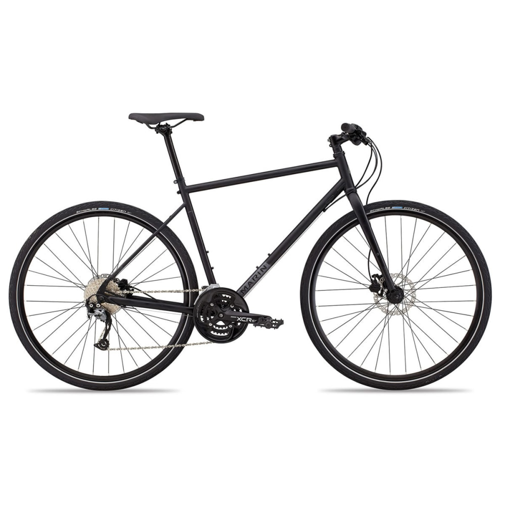 MARIN Muirwoods Commuter Bike - SATIN BLACK