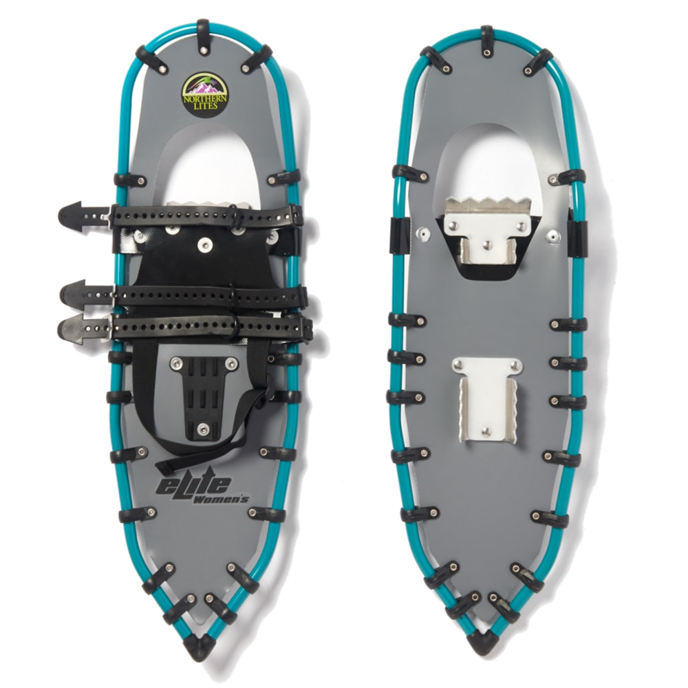 NORTHERN LITES Women's Elite Snowshoes - GREY/TEAL