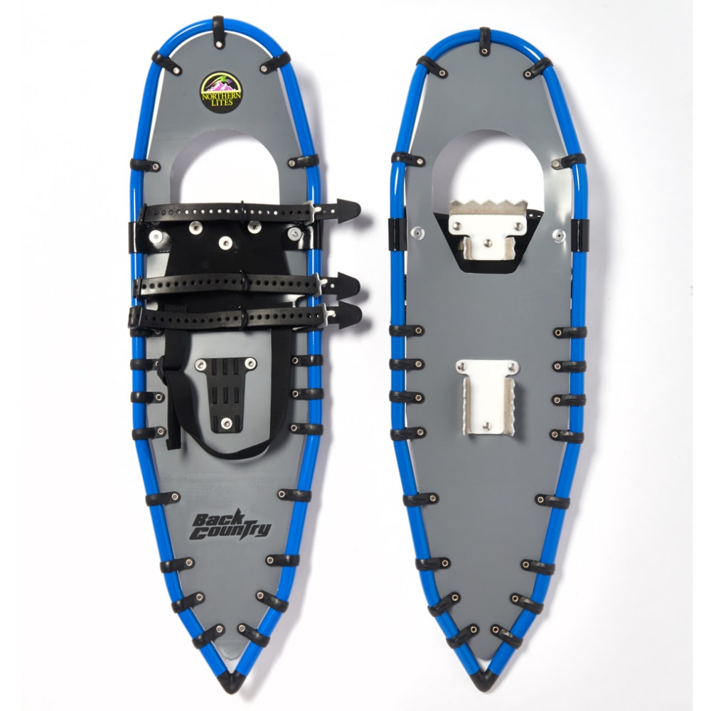 NORTHERN LITES Backcountry Snowshoes - GREY/BLUE