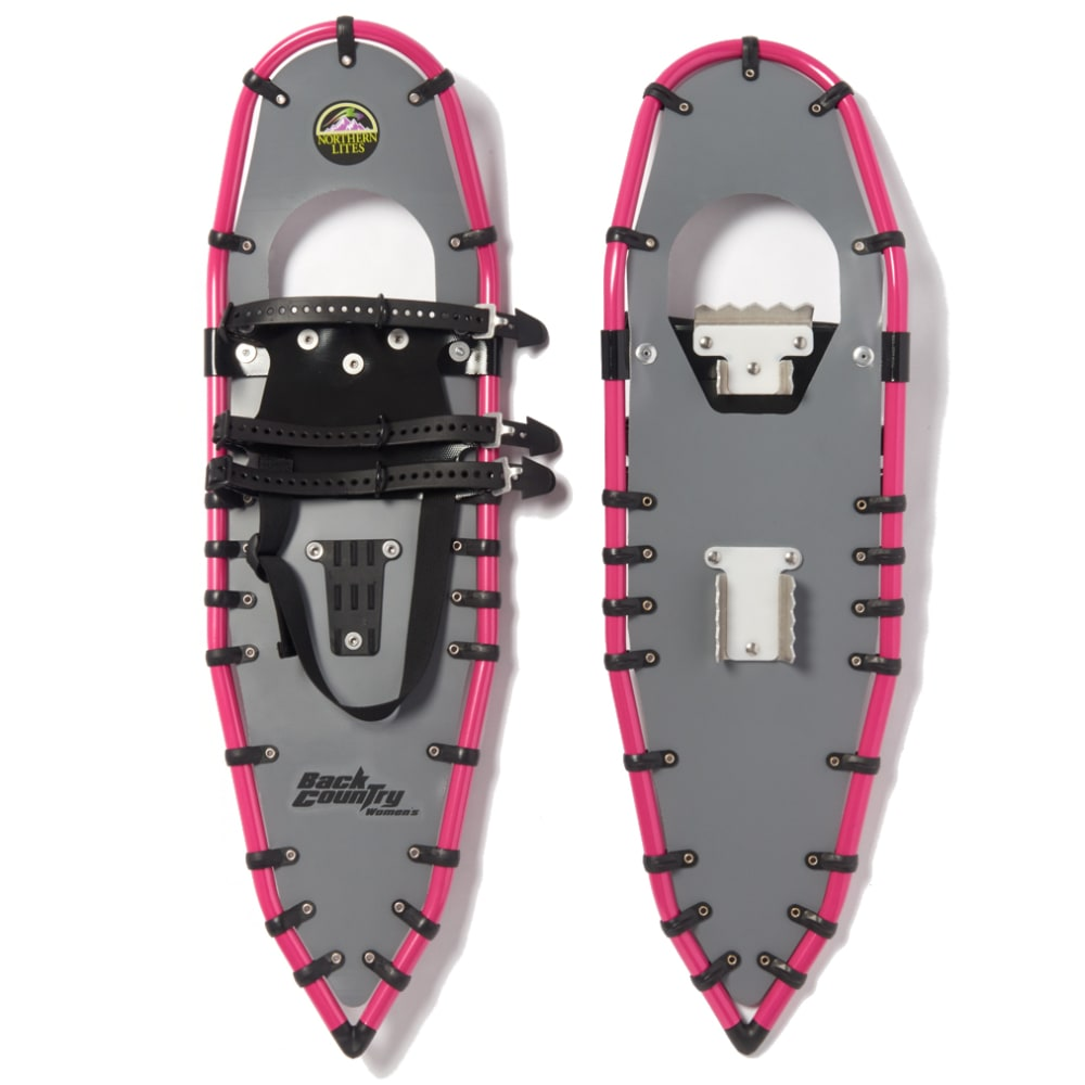 NORTHERN LITES Women's Backcountry Snowshoes - GREY/PINK