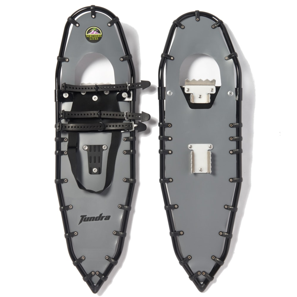 NORTHERN LITES Tundra Snowshoes - GREY/BLACK