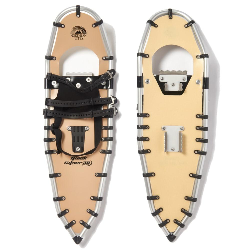 NORTHERN LITES Quicksilver 30 Snowshoes - TAN/ALUM