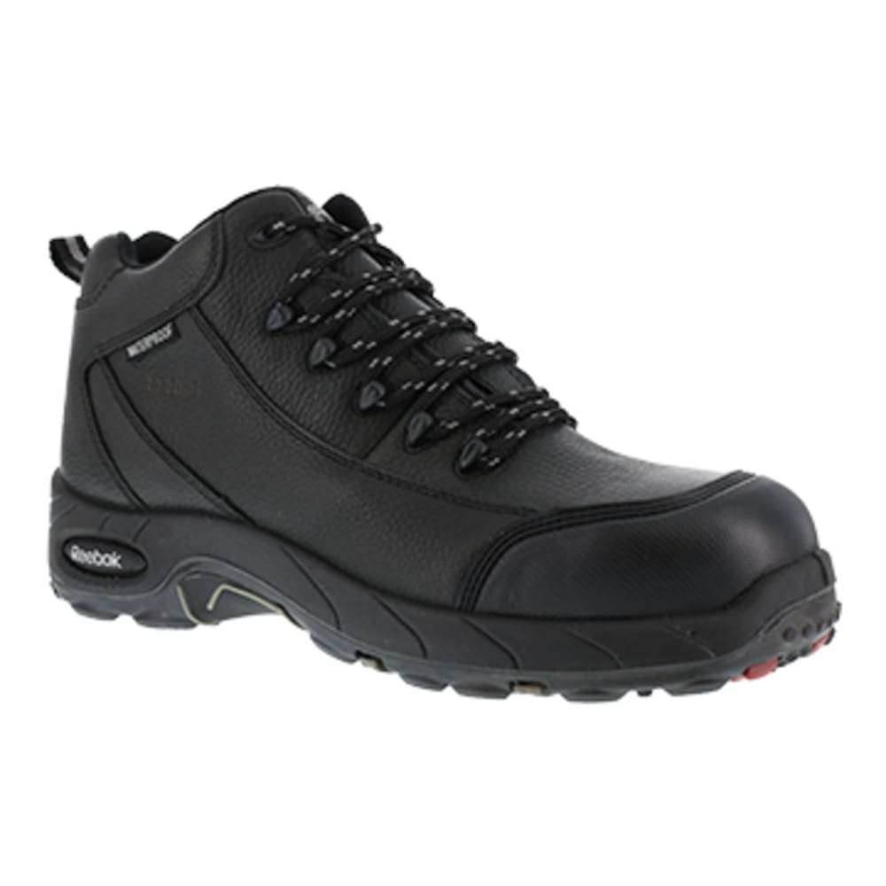 REEBOK WORK Women's Tiahawk Composite Toe Waterproof Sport Hiker, Black - BLACK