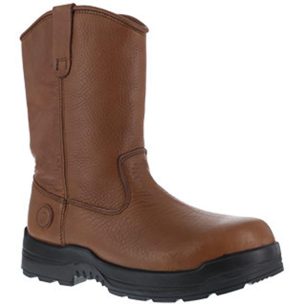 ROCKPORT WORKS Men's More Energy Composite Toe Wellington Boot, Brown - BROWN
