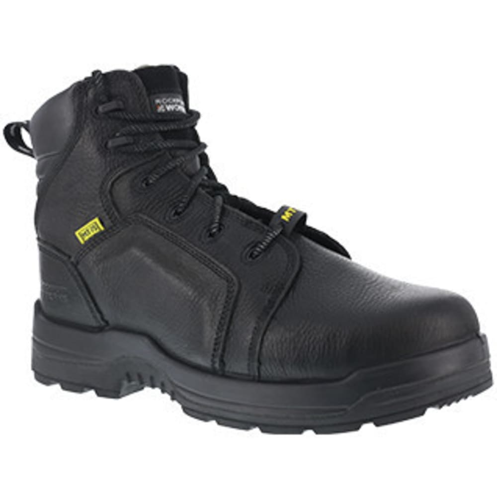 ROCKPORT Women's 6 in. More Energy Composite Toe Work Boots - BLACK