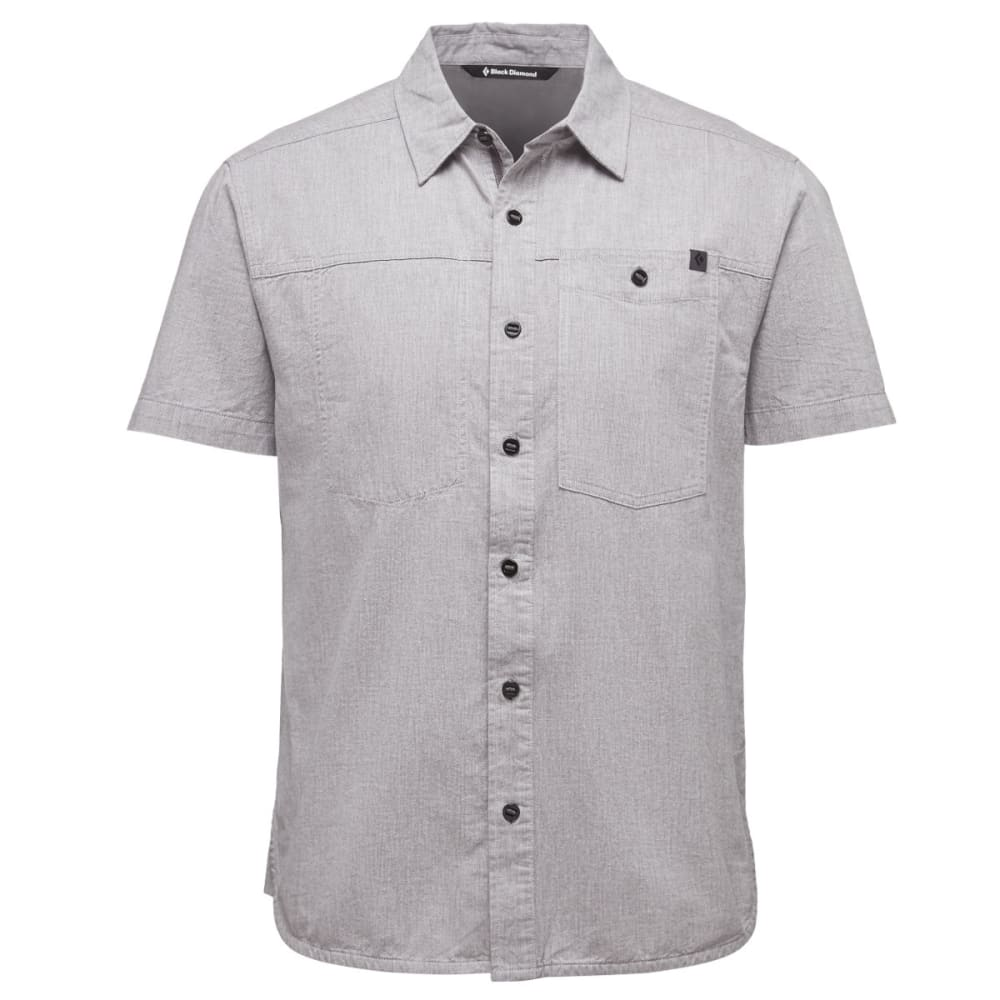 BLACK DIAMOND Men's Short-Sleeve Chambray Modernist Shirt - SLATE