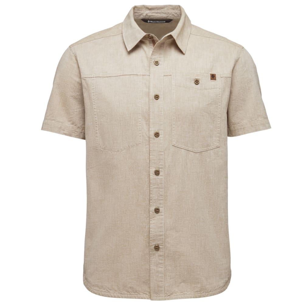 BLACK DIAMOND Men's Short-Sleeve Chambray Modernist Shirt - CARK CURRY