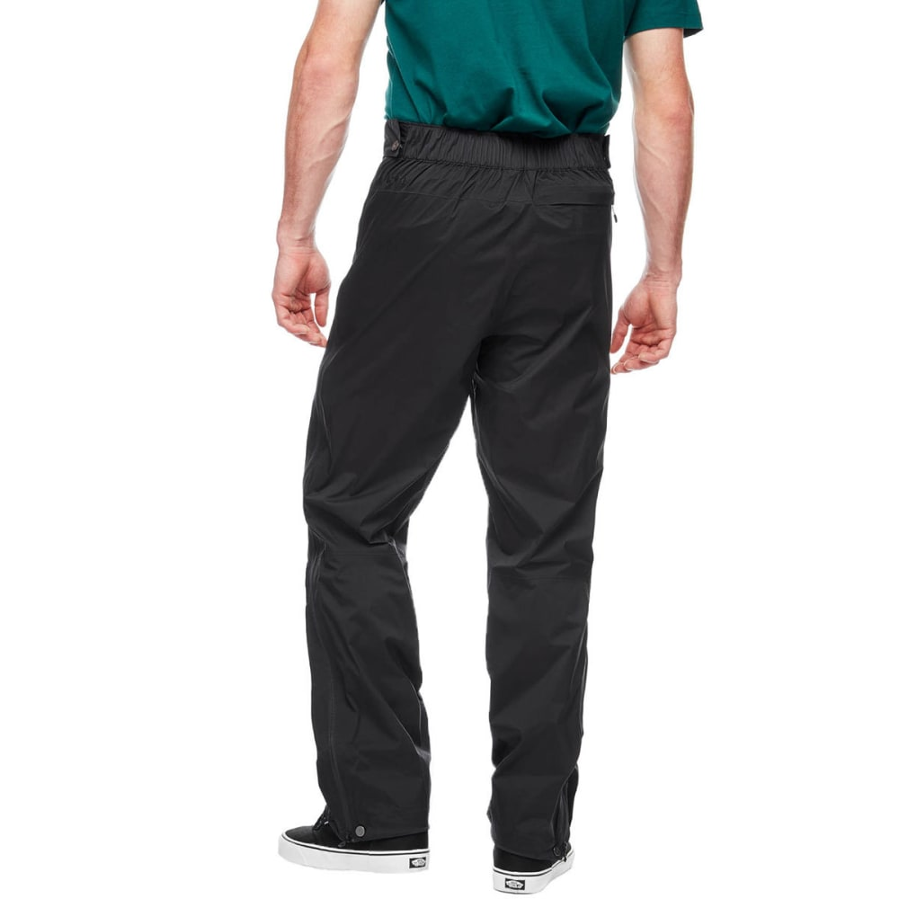 BLACK DIAMOND Men's Stormline Stretch Full Zip Rain Pants - BLACK