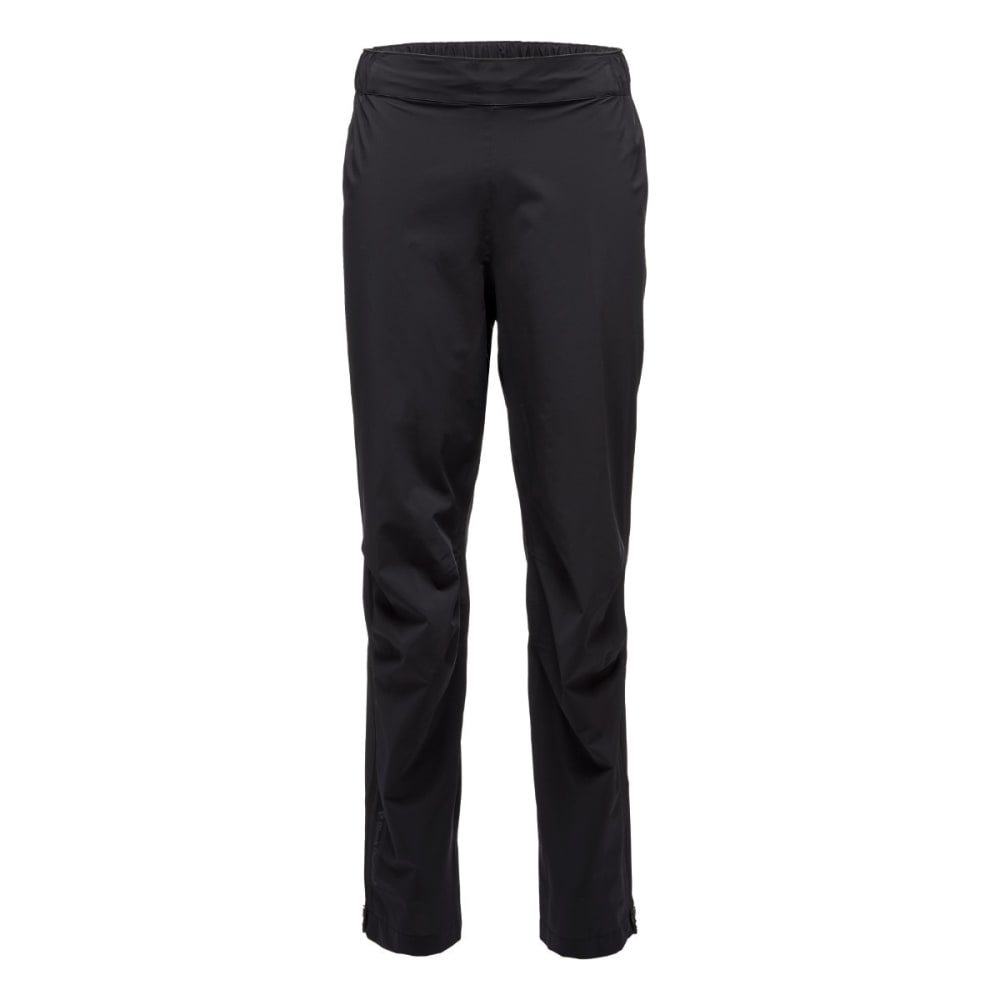 BLACK DIAMOND Men's Stormline Stretch Rain Pants - BLACK