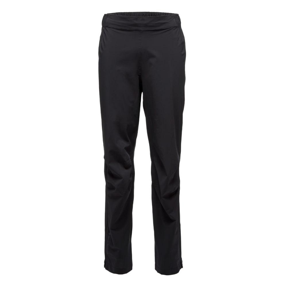 BLACK DIAMOND Men's Stormline Stretch Rain Pants - BLACK