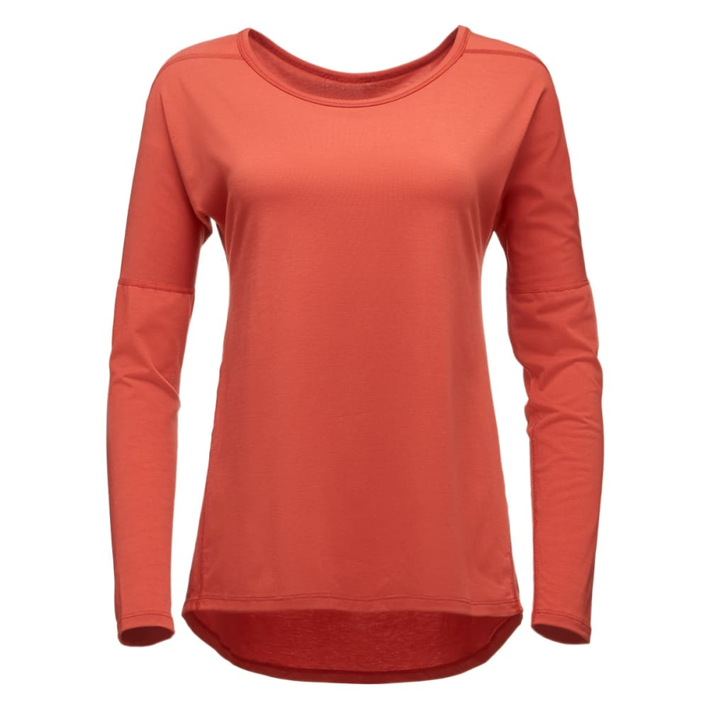 BLACK DIAMOND Women's Gym Pullover - TANDOORI