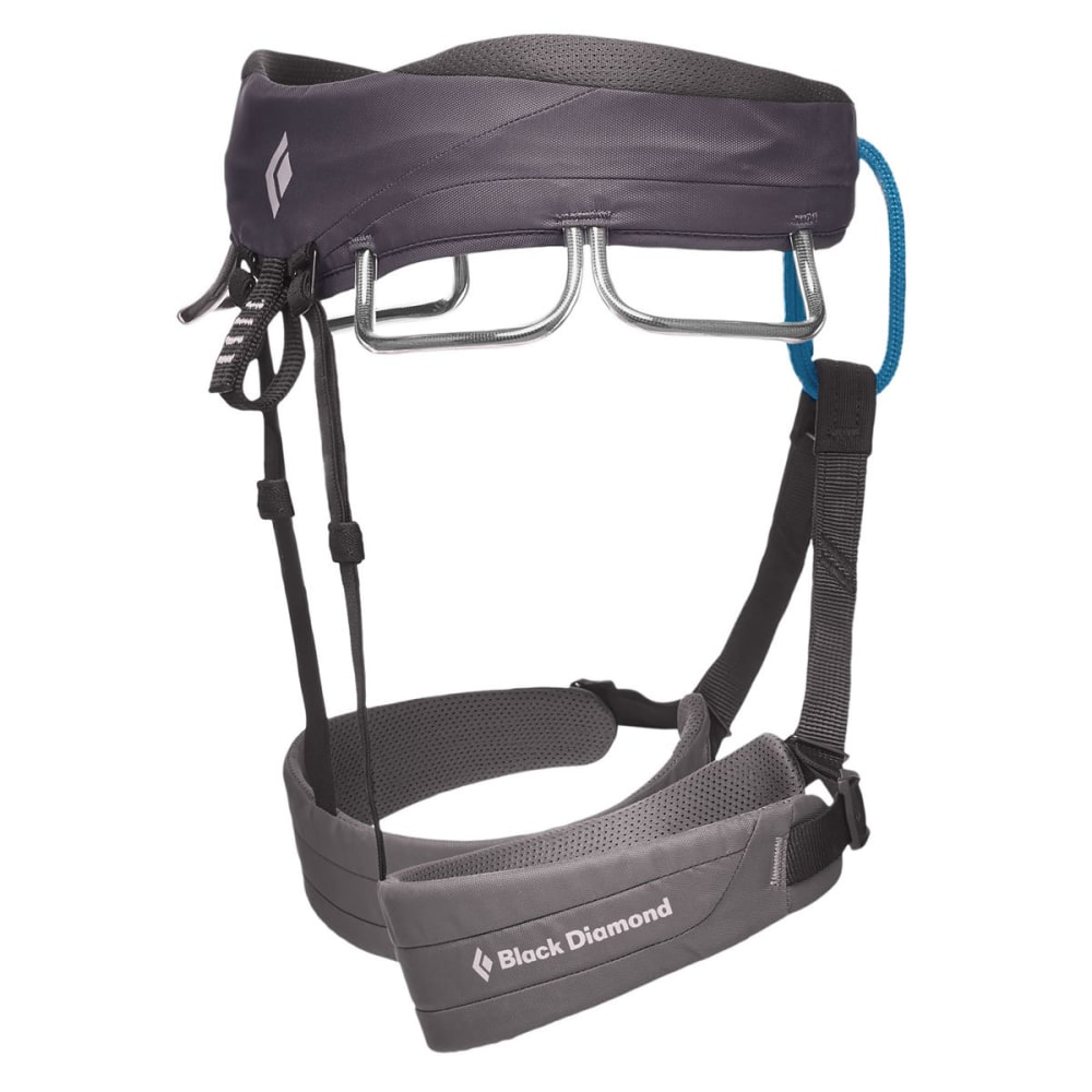 BLACK DIAMOND Men's Momentum Climbing Harness - SLATE