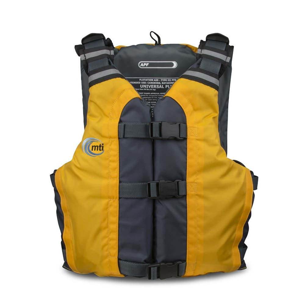MTI APF Life Vest - MANGO/GREY