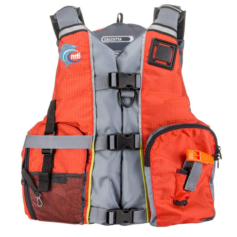 MTI Calcutta Life Jacket - ORANGE/GREY
