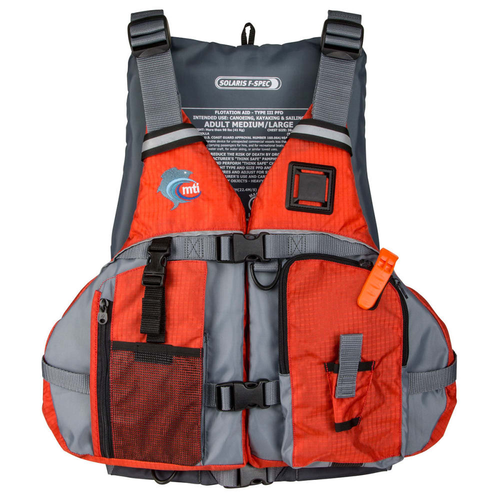 MTI Solaris F-Spec Life Jacket - Orange/Gray